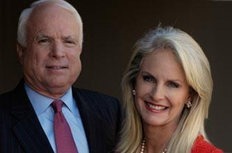 Not McCain's wife! I said Cain's wife.