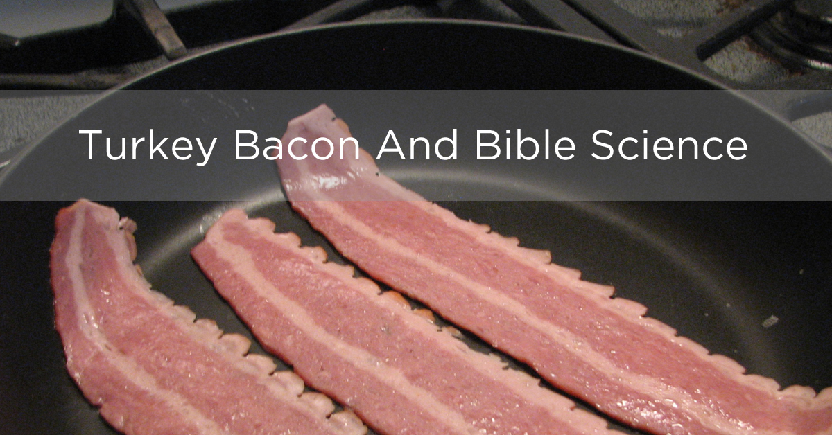 Turkey Bacon And Bible Science